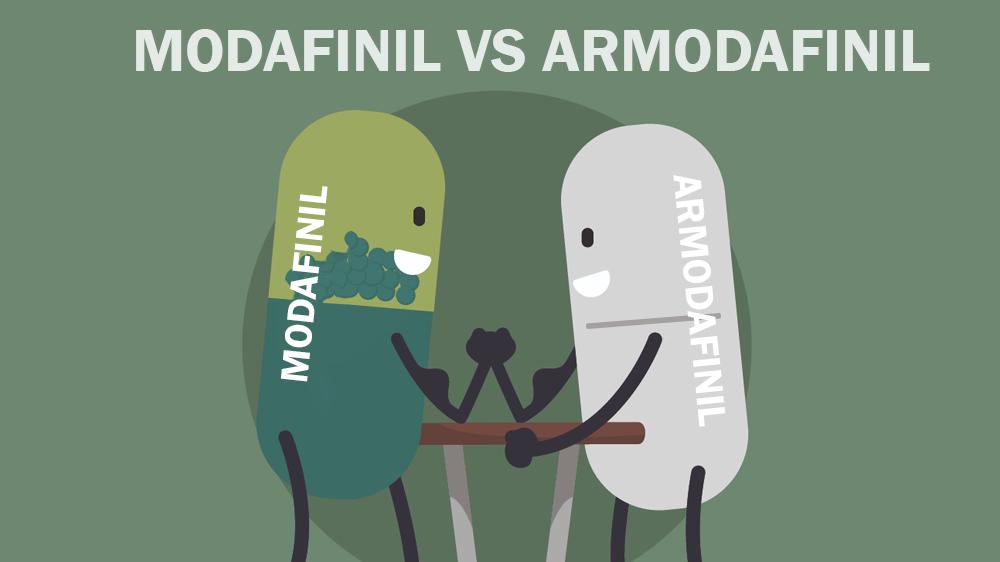 modafinil vs armodafinil