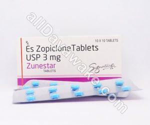 zunestar 3 mg
