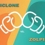 ZOPICLONE VS. ZOLPIDEM